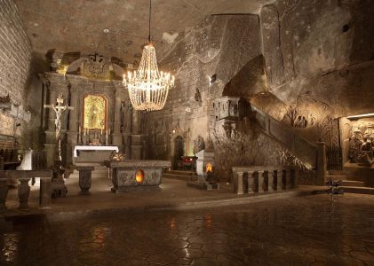 The most popular salt mine in Krakow