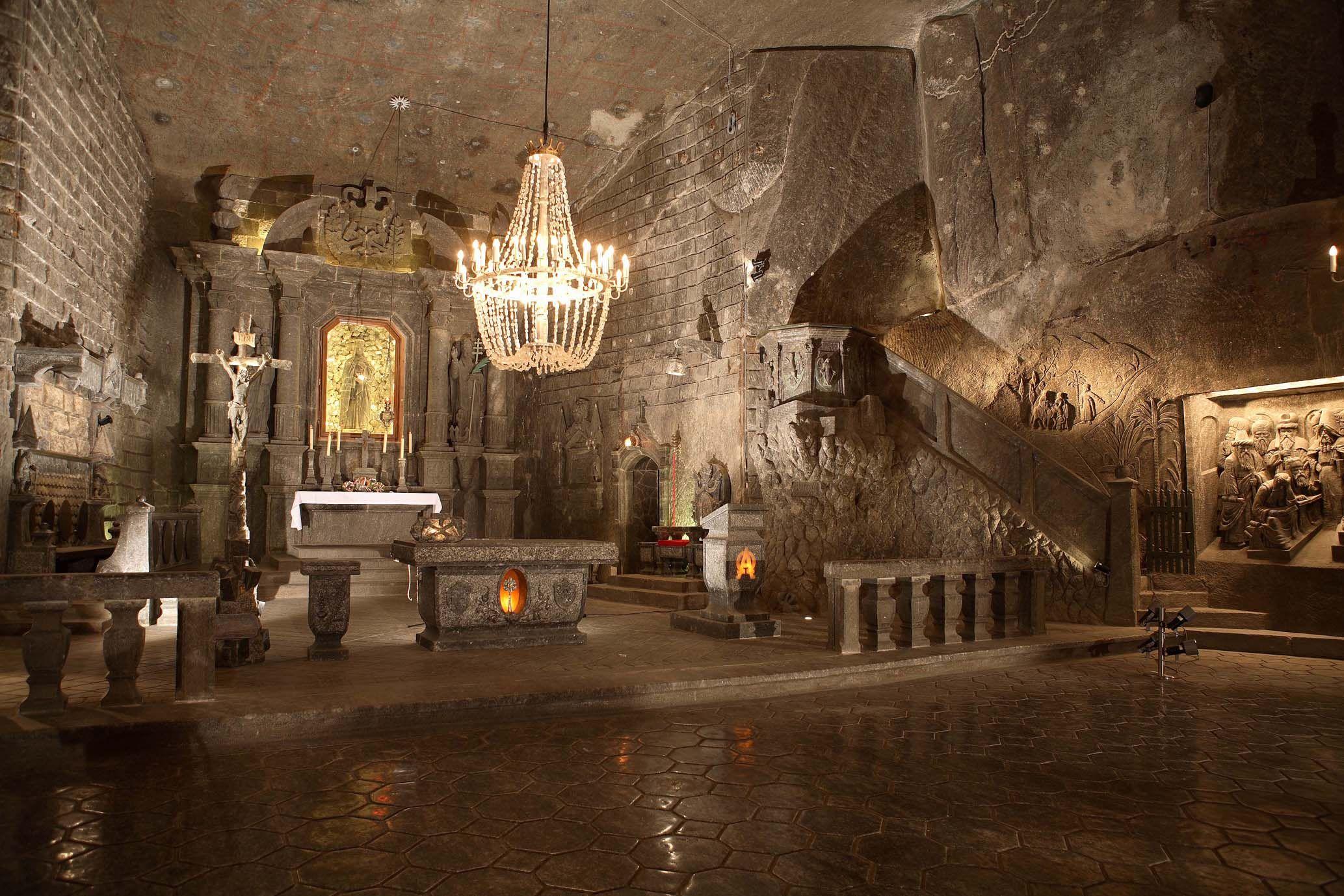 The most popular salt mine in Krakow